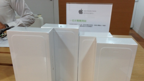 iPhone 6 Plus 開箱