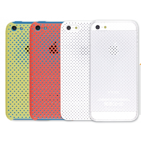 IRUAL MESH SHELL Case For iPhone 5s/5c